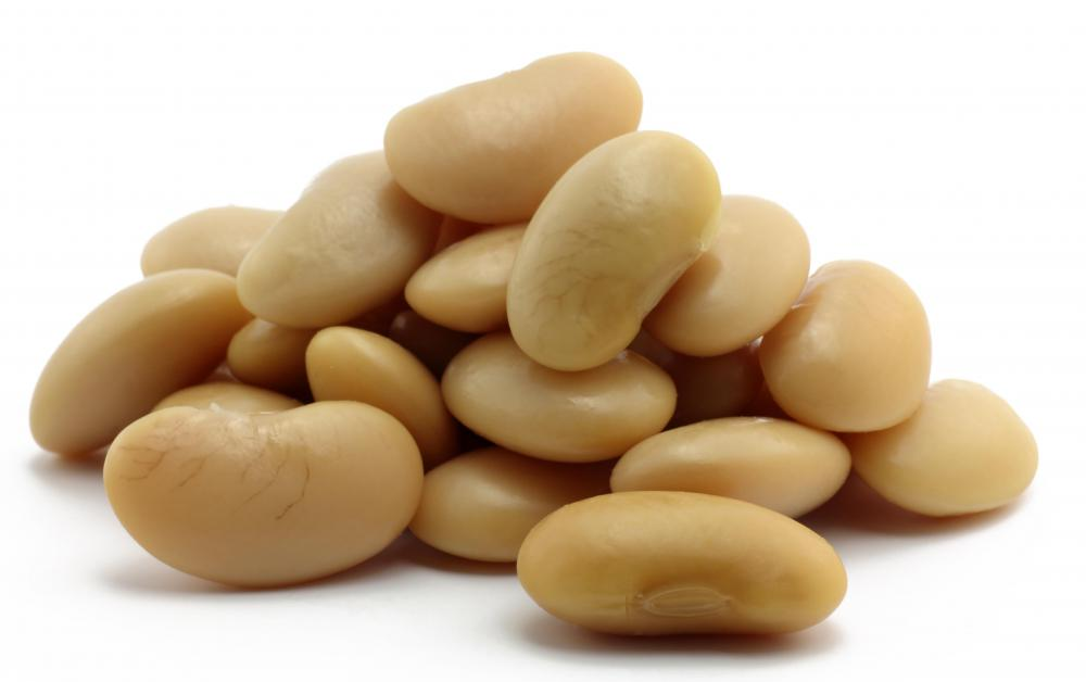 White beans, which are a good source of potassium.