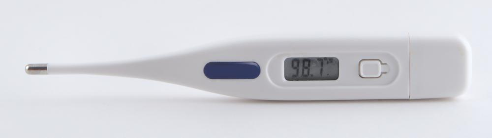 Recording body temperature daily may help a woman keep track of ovulation cycles.