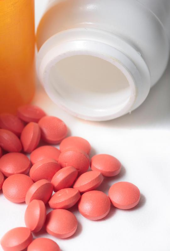 A non-steroidal anti-inflammatory drug like ibuprofen may be used to relieve gout symptoms.