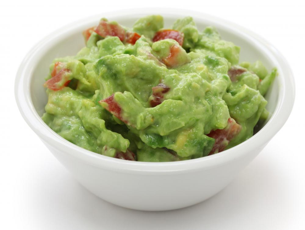 Avocado is the essential ingredient in guacamole.