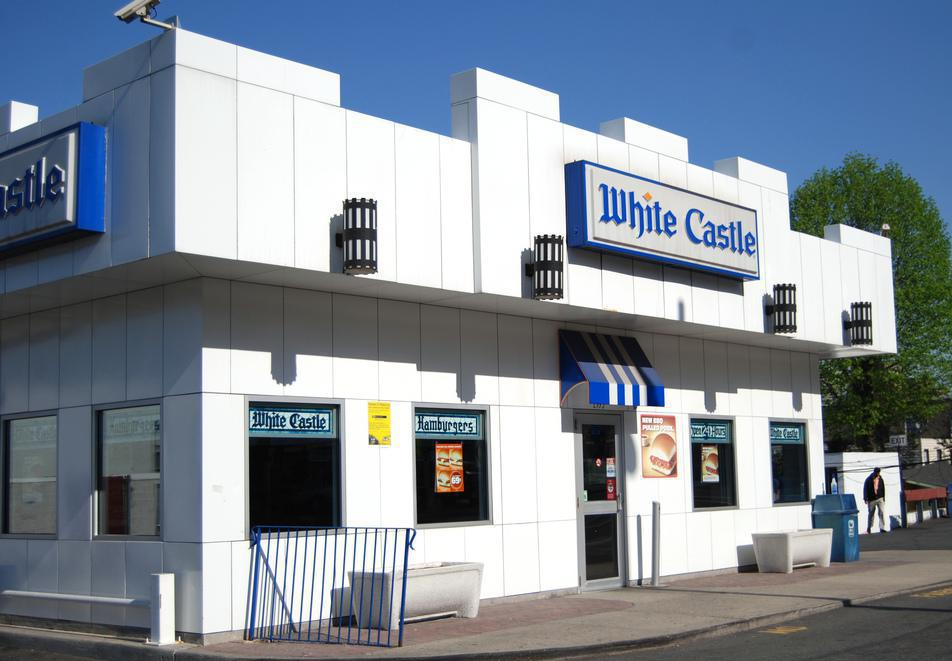 A White Castle fast food restaurant.