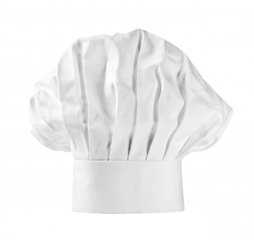 The most paper chef's hats are modeled after the toque blanche.