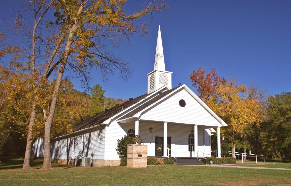 A Baptist church in the Bible Belt.