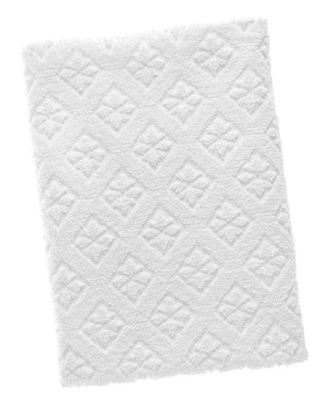 The first paper towels were bleached white to emphasize their cleanliness.