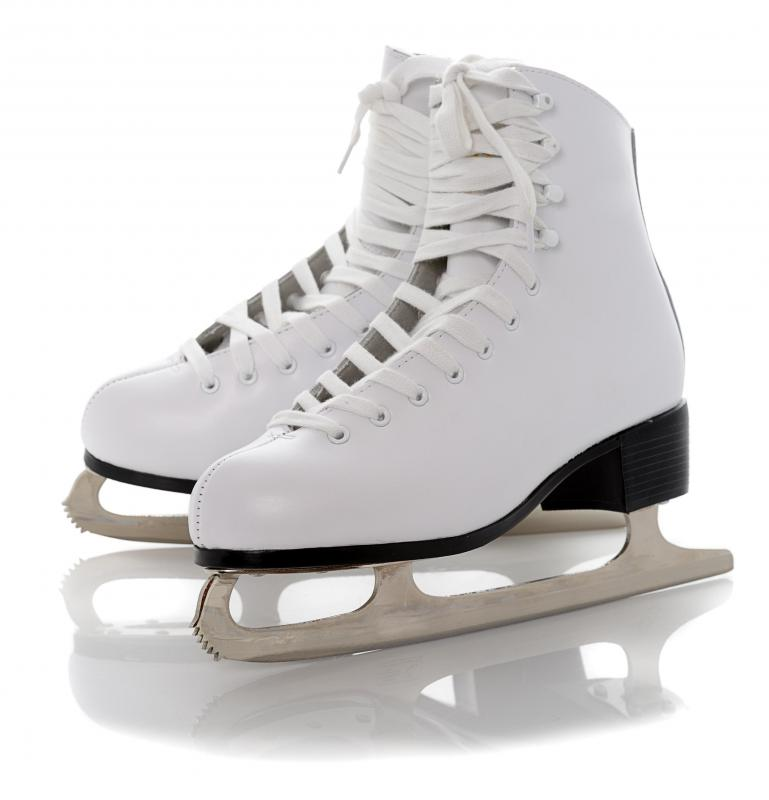 Ice skating may help to reduce stress.
