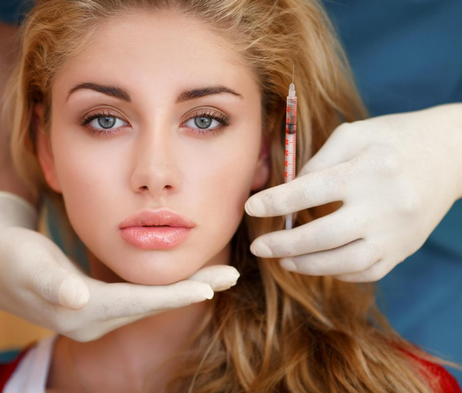 Individuals who undergo collagen injections should wait at least several months before having a permanent lip liner procedure.