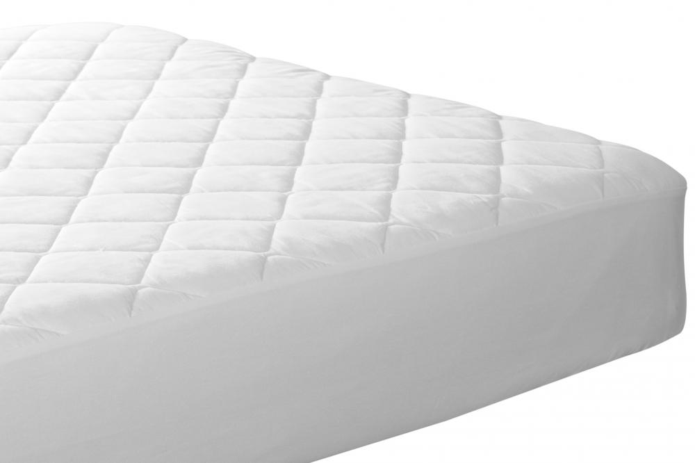 A heated mattress pad can be fitted for particular mattress sizes.
