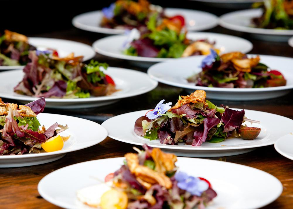 An event manager may play a role in arranging food for events.