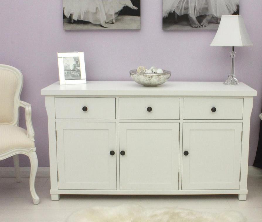 A master bedroom typically features a storage dresser.