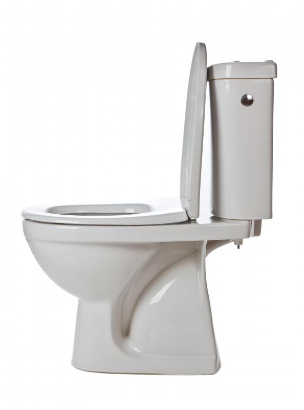 Plugged toilets can cause overflowing and also damage floors.