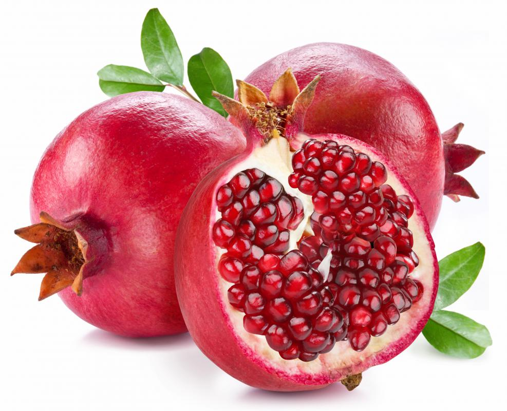 Pomegranate can help lighten lips.