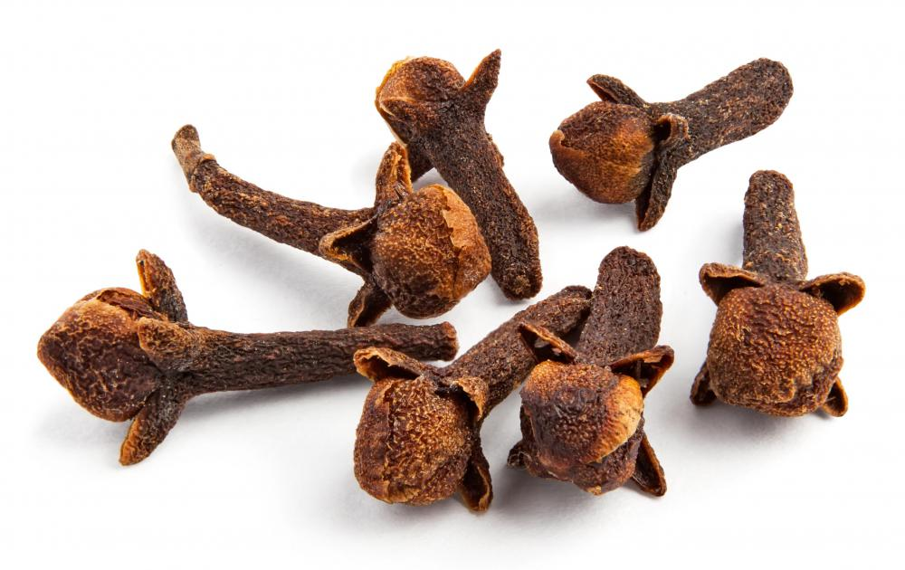 Cloves, which are used to flavor clove gum.