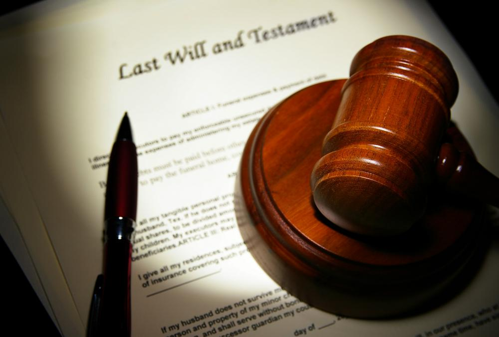 The validity of a will is determined by the court during the probate process.