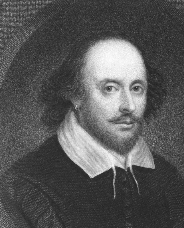"Shakespeare used the word ""gleeking,"" but most likely to mean a joke."