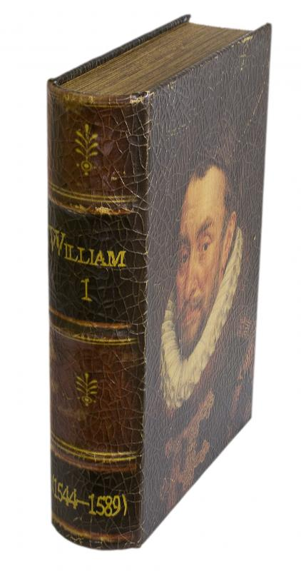 A book of plays by William Shakespeare, including The Merchant of Venice.