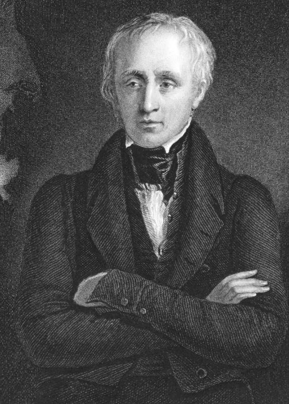 Poet William Wordsworth's work heralded the end of the Age of Johnson.