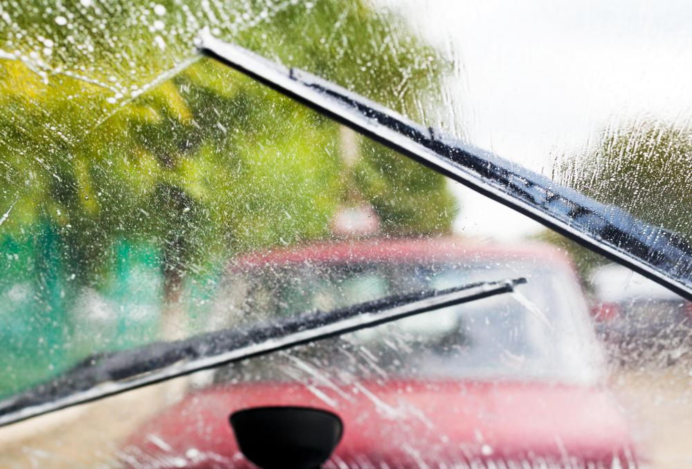 If windshield wipers are in poor condition,  it will be difficult to drive in a torrential downpour or heavy rain because they will not remove water properly.
