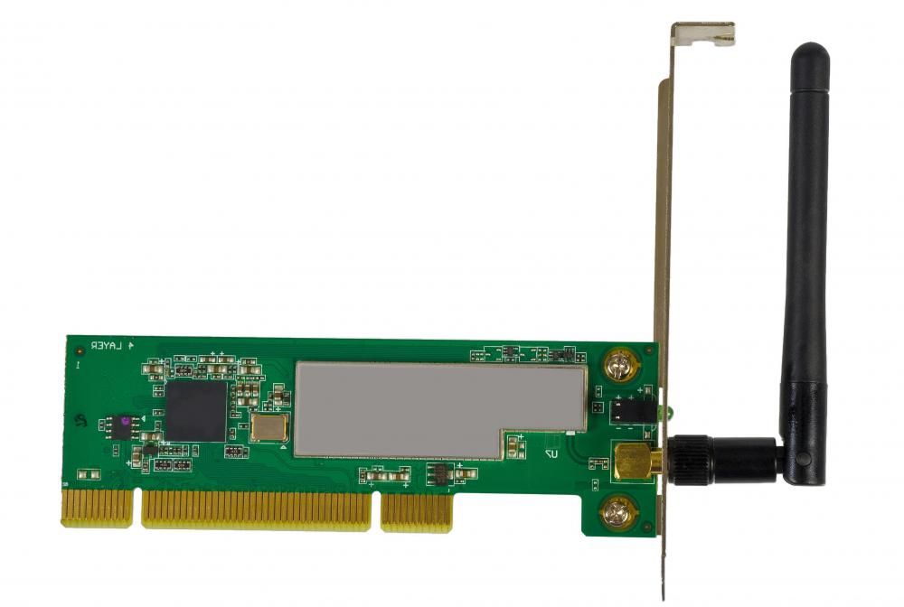 A wireless card is an example of a computer networking device which may need drivers to function properly.