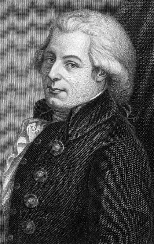 The English baroque style influenced Mozart.