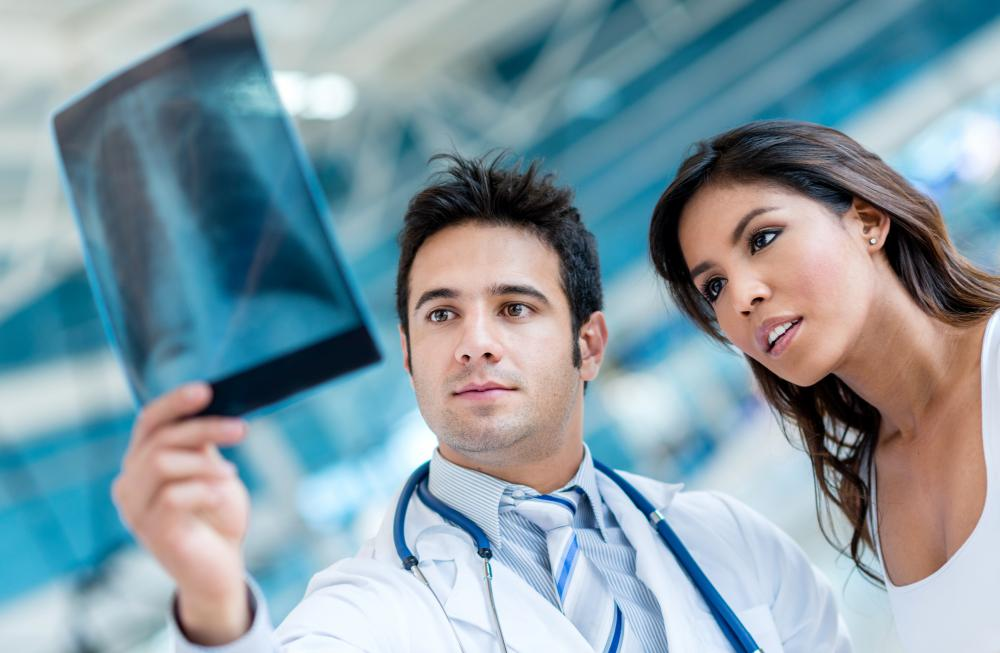 an x ray tech is typically trained to spot issues that necessitate    X Ray Technician