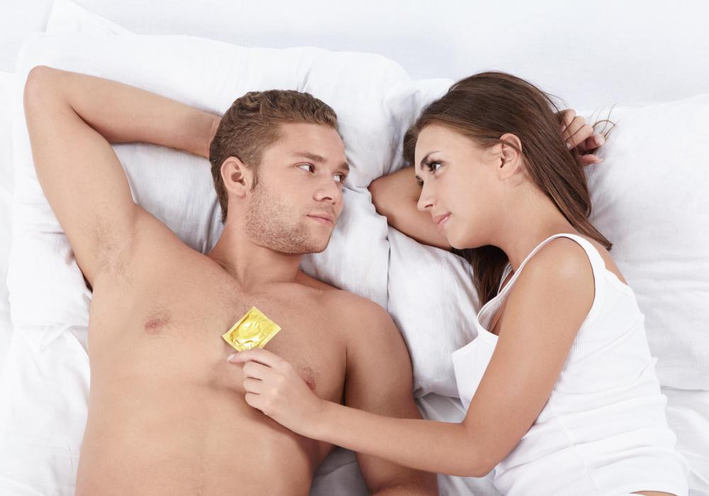 Condoms may not be necessary for a monogamous couple, but they will provide extra protection against Hepatitis C.