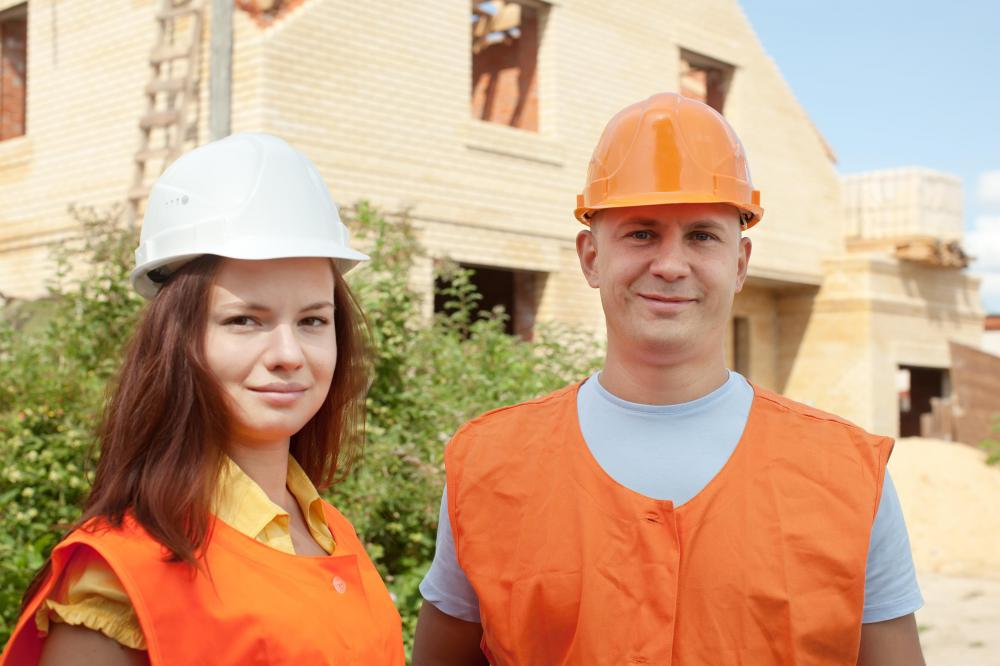 Skilled workers include construction workers.