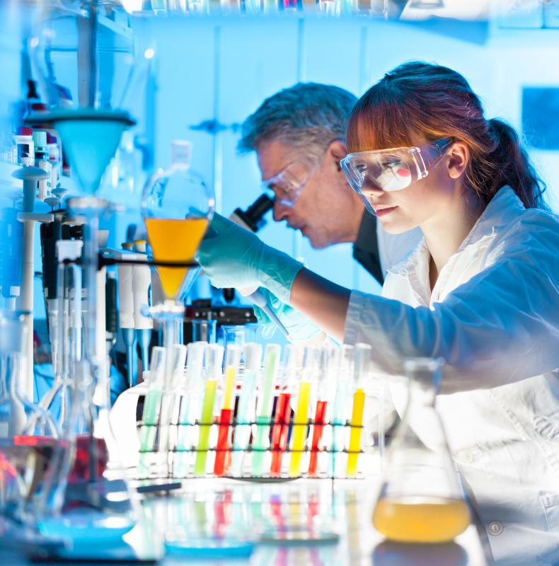 Research specialists often work in laboratories.