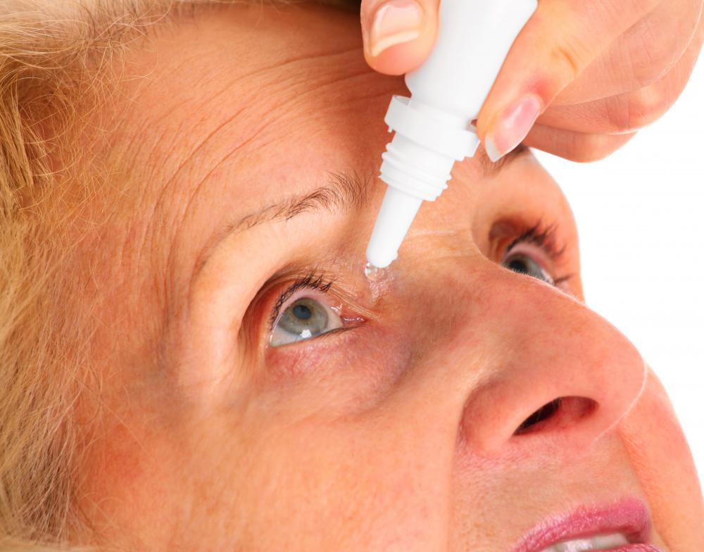 If detected early, glaucoma may be treated with eye drops.