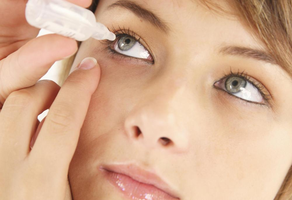 Eyedrops may ease irritation following the surgery.