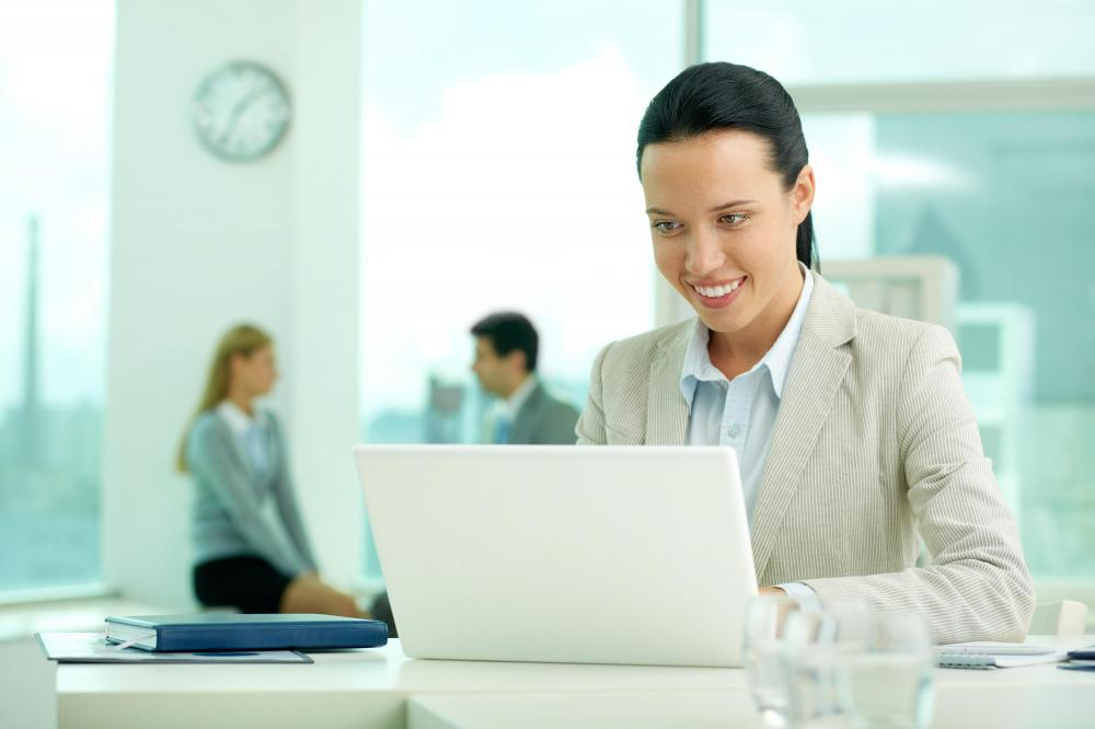An executive assistant usually has access to a company's data sharing system.