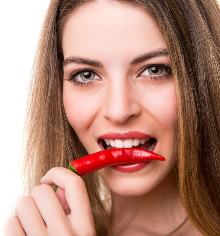 Eating spicy foods may exacerbate geographic tongue.