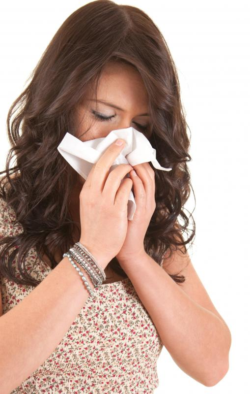 An antihistamine is a good medication for someone with a runny nose.