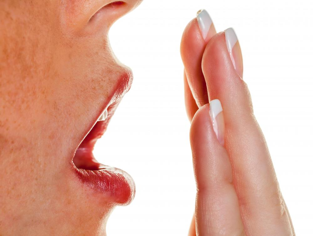Bad breath may be a sign of tonsillitis.