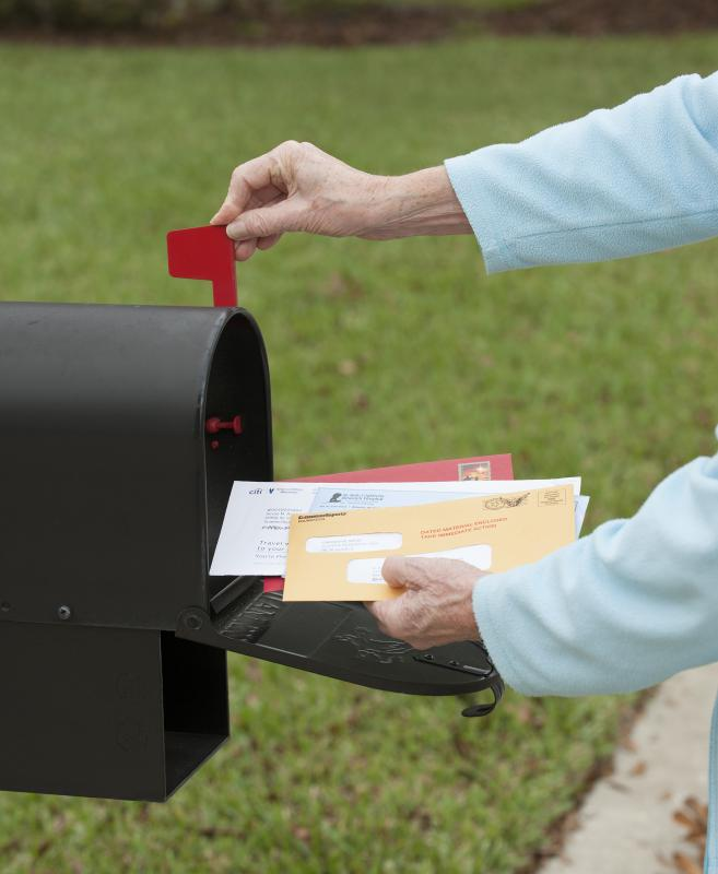 Letters and packages are delivered more quickly when sent by Express Mail than regular mail.