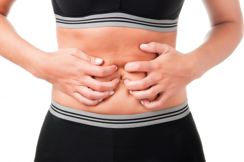 Food allergies may cause abdominal discomfort.