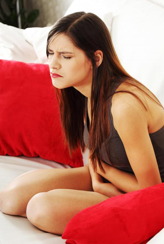 Unusual menstrual pain may be a sign of cystadenomas.