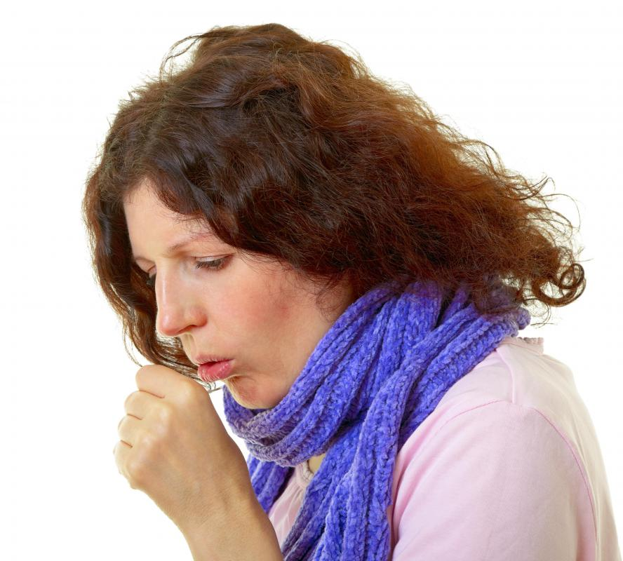 Chronic laryngitis can cause a dry throat.