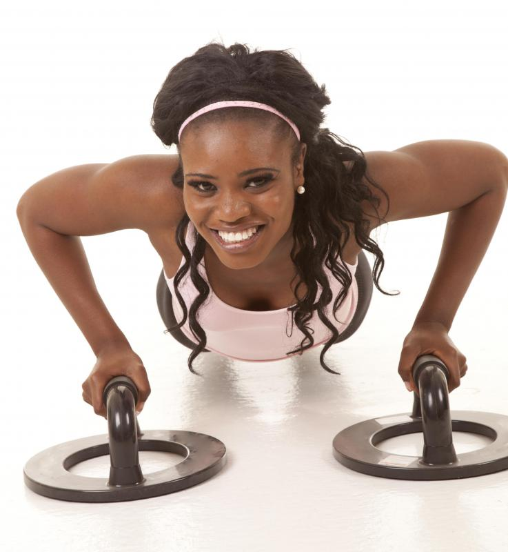 A basic concept in physical fitness is that a person should be able to complete push ups with ease.