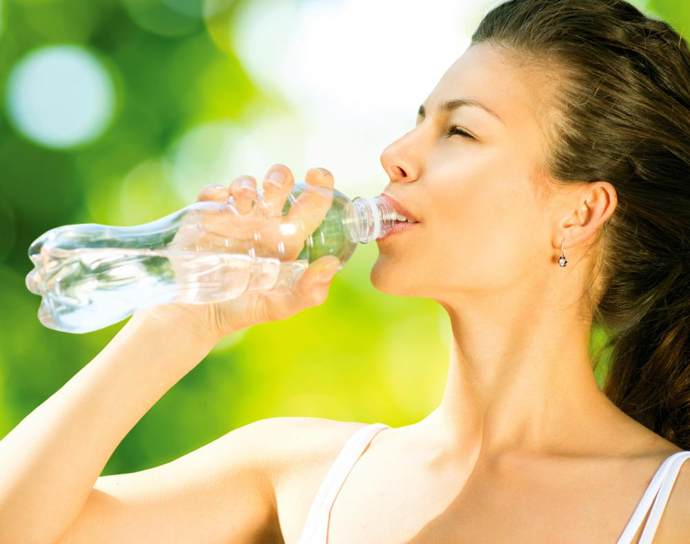 It's important for runners to remember to stay hydrated during their training.