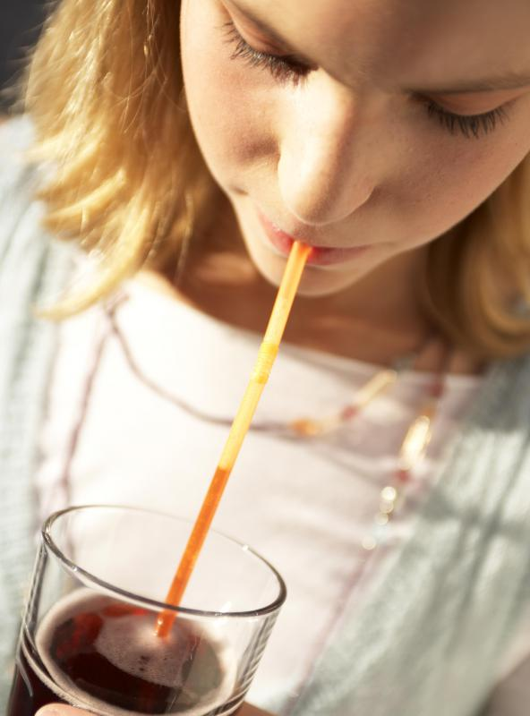 Some potential remedies for the hiccups involve using a straw.