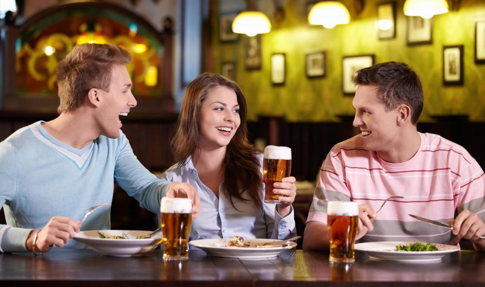 Many people drink alcohol in social settings to become more comfortable.