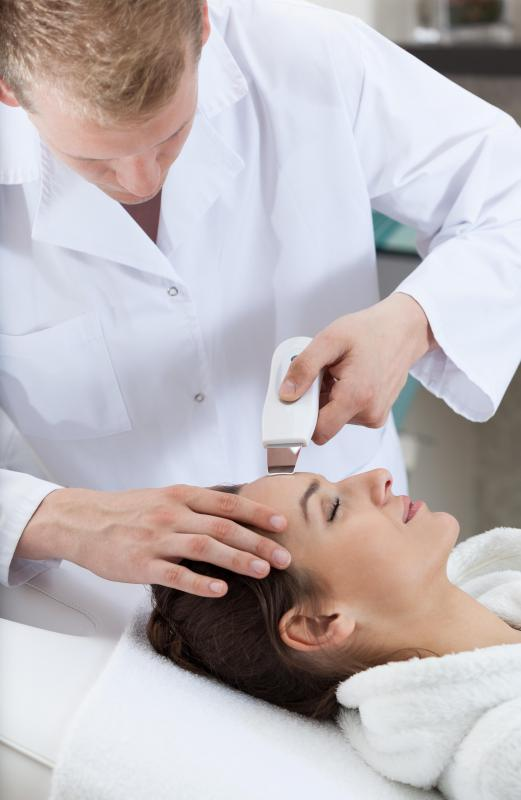A dermabrasion may be used to smooth and resurface skin instead of getting a facelift.