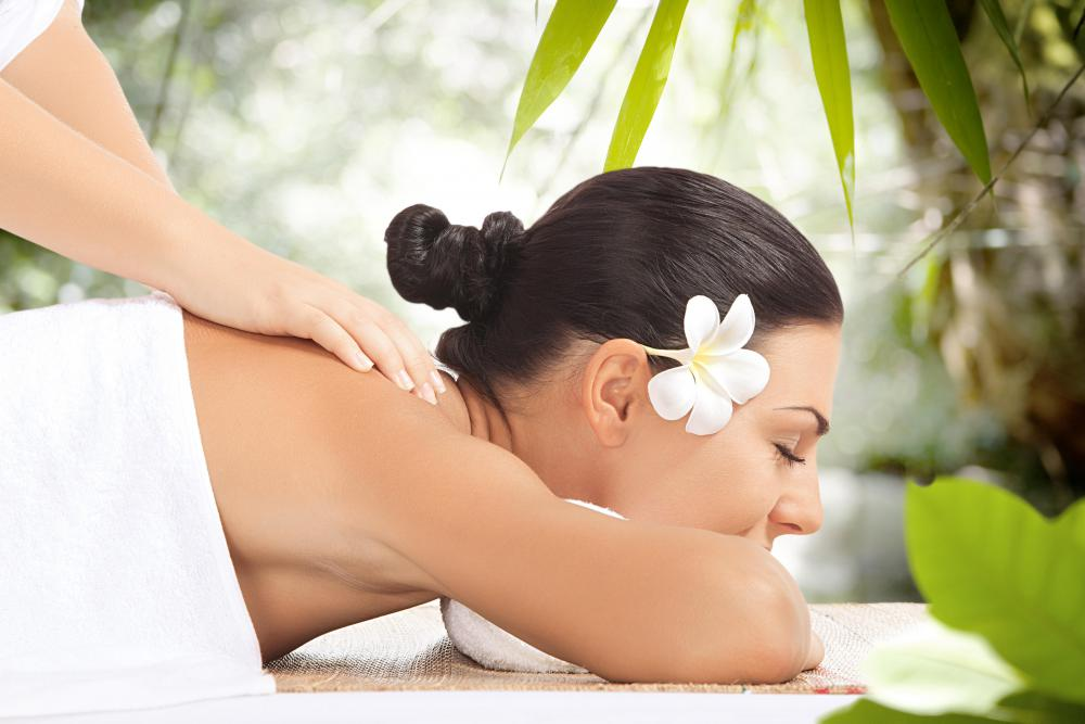 Most resorts will give visitors the chance to have a massage.