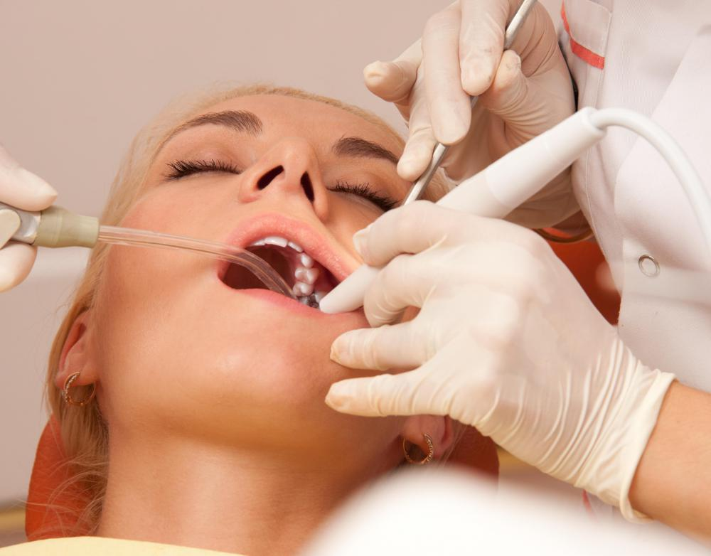 Consider consulting with several dentists before choosing one.