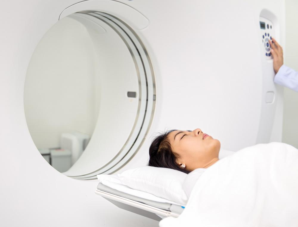 A patient may need a CT scan to detect any head injuries that could impact the brain.