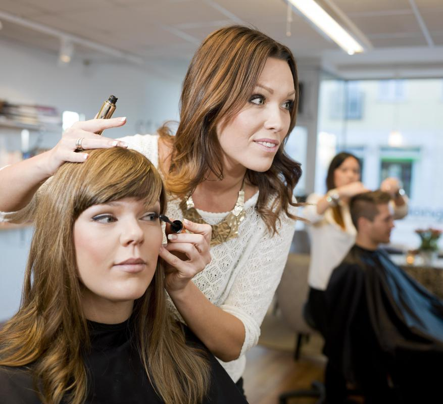 A hair stylist can give you suggestions for encouraging healthy growth for your hair type.