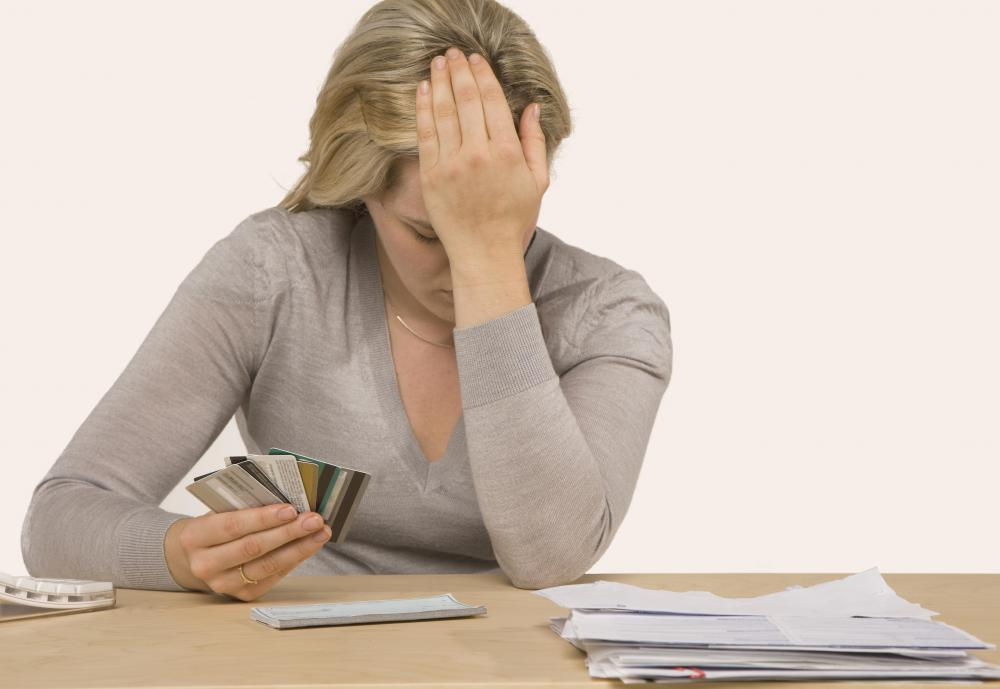 Fraudulent charges can lead to huge credit card debt and negative credit reports.