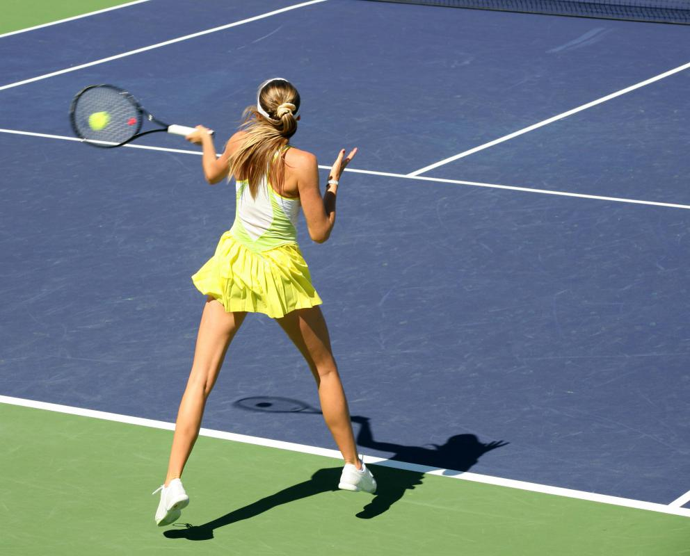 Tennis is a type of reflex sport.