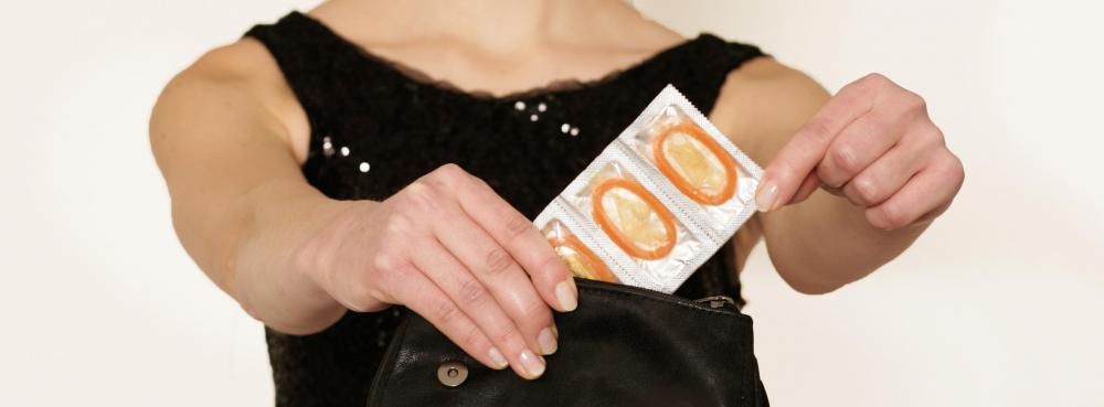 Condoms may be ineffective against genital herpes.