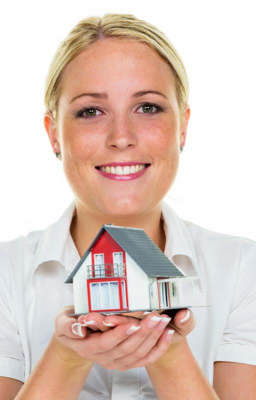 A real estate agent is trained to determine market value of a home.